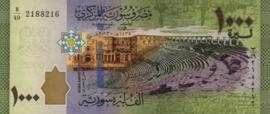 Syrië P116.a 1.000 Pounds 2013