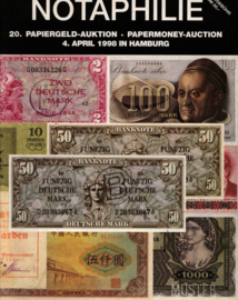 Auction catalogue Notaphilie 1998-04