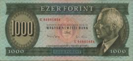 Hongarije P176 1.000 Forint 1993