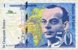 Frankrijk P157A.a 50 Francs 1994