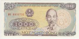 Viet Nam P106.b 1.000 Dông 1988