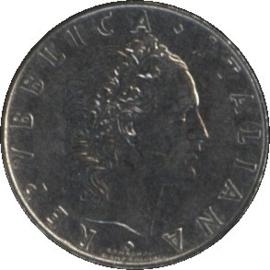 Italië KM95.1 50 Lire 1963R