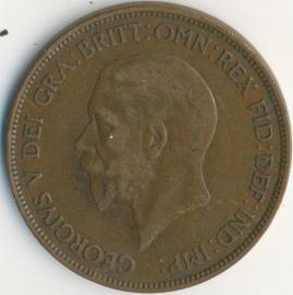 Engeland 1 PENNY 1928 KM# 838