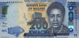 Malawi P60.a 200 Kwacha 2012/2016