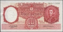 Argentinië P270.a 10 Pesos 1954-1957 (No date)