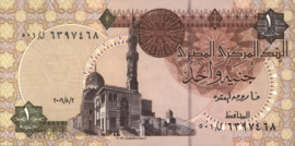 Egypte P50.l 1 Pound 1978-2008