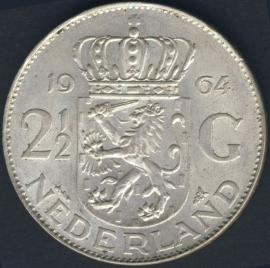 Sch.1100 Zilver 2½ Gulden 1964