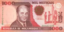 Moçambique P135.a 1.000 Meticais 1991