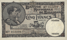 België P98.b 5 Francs Model 1919