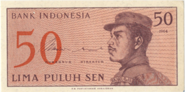 Indonesië P94.a.R 50 Sen 1964