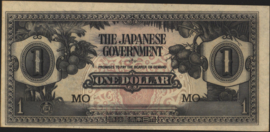 Malaya PM5.c 1 Dollar 1942