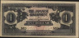 Malaya PM5.c 1 Dollar 1942