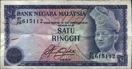 Maleisië P01- 1 Ringgit ND B101a