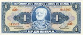 Brazilië  P150.d 1 Cruzeiro (old) 1954-1958
