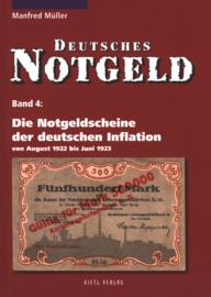 Duitsland Band 4 Die Notgeldscheine der deutschen Inflation