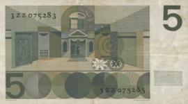 Nederland AV018 PL22 5 Gulden 1966