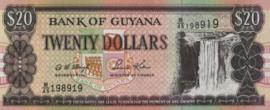 Guyana P30.c 20 Dollars 1996 (No date)