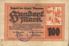 Ilmenau 2190.2.a 100 Mark 1922