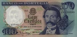 Portugal  P169a 100 Escudos 1965-78