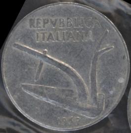 Italië KM#93 10 Lire 1969R