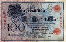 Duitsland P22 100 Mark 1903