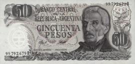 Argentinië P301.b 50 Pesos 1976-78 (No date)