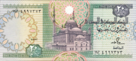 Egypte 52.c 20 Pounds 1978-92