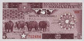 Somalië P31.b 5 Shilin 1983-87