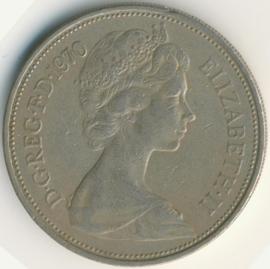 Engeland 10 New Pence 1970 KM#912