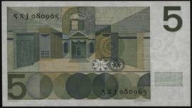 PL22.c2: Nederland 5 Gulden 1966