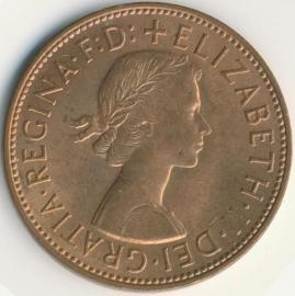 Engeland 1 PENNY 1967 KM# 897
