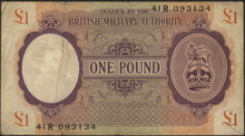Great Britain, British Armed Forces PM6.a 1 Pound 1943 (No date)