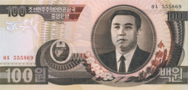 Korea (Noord) B316 P43 100 Won 1992