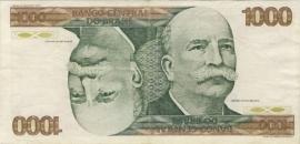 Brazilië P197.b 1.000 Cruzeiros ND (1979) VF