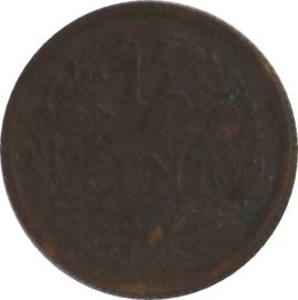 Nederland Sch.1017 1/2 Cent 1934