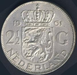 Sch.1097 Zilver 2½ Gulden 1961