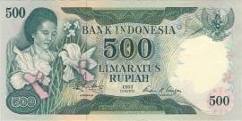 Republiek Indonesië H314: 500 Rupiah 1977