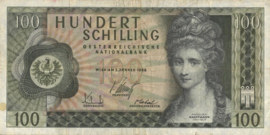 Oostenrijk P145 100 Schilling 1969
