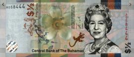 Bahamas PNL 1/2 Dollar 2019