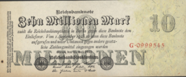 Duitsland Ros.095 10.000.000 Mark 1923-07-25 DEU-107