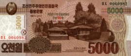 Korea (Noord) P.CS18 5.000 Won 2013
