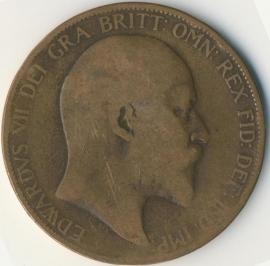 Engeland 1 PENNY 1906 KM# 794