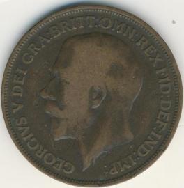 Engeland 1 PENNY 1916 KM# 810