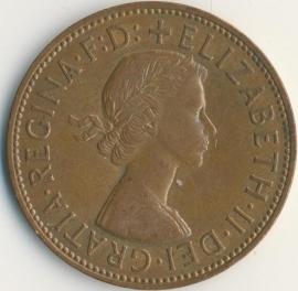 Engeland 1 PENNY 1966 KM# 897