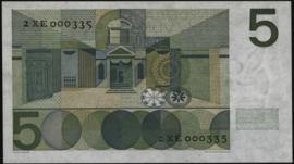 Nederland PL22.c1: 5 Gulden 1966