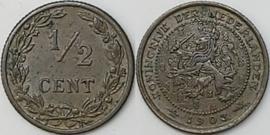 Nederland Sch.1004 1/2 Cent 1903