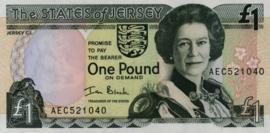 Jersey P26.b 1 Pound 1993-2000 (No date)