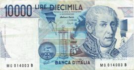 Italië P112.c 10.000 Lire 1984