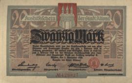 Altona 012.08 20 Mark 1918