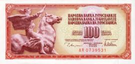 Joegoslavië P90.a 100 Dinara 1978-86